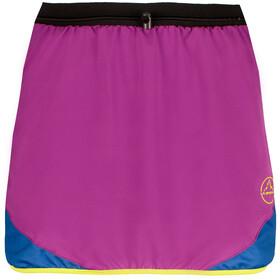 La Sportiva Comet Skirt Women Purple/Cobalt Blue